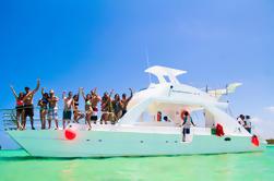 Catamarán privado: Snorkel de arrecife y piscina natural de Punta Cana