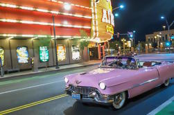 Private Las Vegas Night Tour met Elvis in Pink Cadillac Convertible