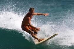 Lección de Surf para Grupos Pequeños