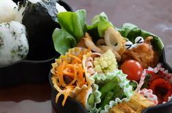 Japanische Bento Box Kochen Lektion in einem privaten Haus in Tokio