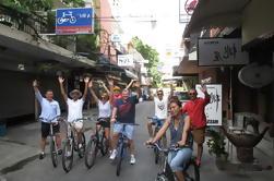 Passeio de bicicleta verde de Banguecoque