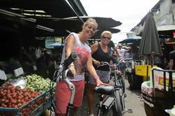 Campo Banguecoque e uma excursão do mercado flutuante