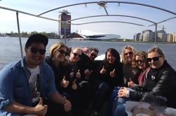 Crucero por el Canal de 90 minutos en Amsterdam