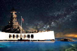 USS Arizona Memorial y USS Missouri en grupo desde Waikiki
