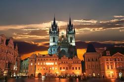 Soirée à pied à Prague