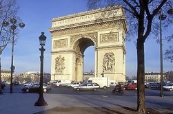 Tour por la ciudad de París en minivan, museo del Louvre y almuerzo en el río Sena