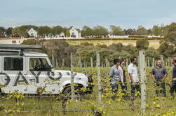 Voyager Estate Winery Tour y degustación con almuerzo de 4 platos o experiencia de viñedo a mesa de 6 platos