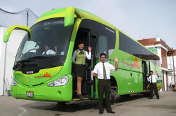 Autocarro de ônibus de Puno para Cusco