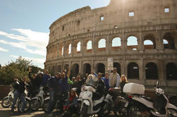 Combo Roma por Scooter e Coliseu Skip-the-line Visita guiada