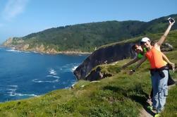 Excursión de senderismo privado de la montaña Ulia en San Sebastián