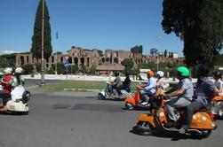 Roma guidata da Vespa e Food Tasting Tour Walking
