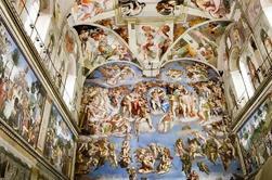 Visita privada del Vaticano para los niños