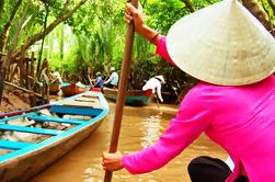 Excursión de un día al Delta del Mekong en barco Incluyendo Almuerzo de pescado de orejas de elefante y Pagoda de Thien Hau