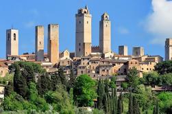 Excursión de un día a la costa privada: descubra la Toscana, Siena Monteriggioni, San Gimignano y Castellina in Chianti desde Livorno