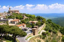 Excursión de un día a la costa privada: descubra la Toscana, Siena Montalcino y Val D'Orcia y Montepulciano Pienza de Livorno