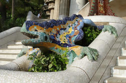 Sla de wachtrij Guided Walking Tour: Gaudi's Park