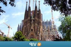 Viator VIP: Exclusive La Sagrada Familia y Torres Bellesguard Tour con Brunch y Vino