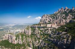 Montserrat kloster fra Barcelona pluss Cogwheel