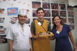 Sushi Making und Tsukiji Fischmarkt Morgen Tour von Tokio