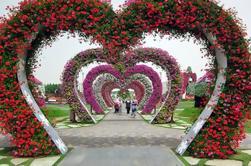 Dubai Fairyland Sights: Jardines del milagro, el jardín de la mariposa y aldea global