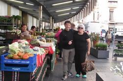 Tour local de mercado de productos y almuerzo en un Club Gastronómico Privado