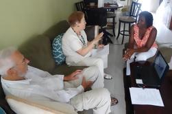 Jamaicaanse Patois Taalklas en Rollenspel Presentatie Van Kingston