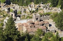 Visite privée de Mystras incluant le déjeuner d'Athènes ou de Nafplio