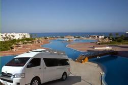 Traslado privado de ida y vuelta: Aeropuerto de Hurghada a Marsa Alam