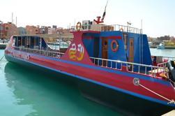 Viaje de barco de fondo de cristal: Amazing Underwater Red Sea