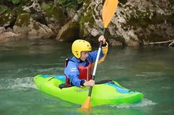 Cours de kayak de 5 jours sur la rivière Soca de Bovec