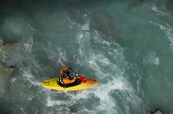 Excursion en kayak de la rivière Soca pour l'expérience de Bovec