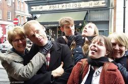 Passeio pedestre infame de Soho em Londres