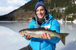 Pesca de hielo de día completo en Whistler o Pemberton