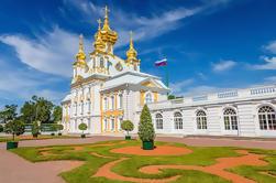 Excursión privada de medio día al Palacio Peterhof desde San Petersburgo