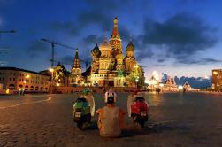 """Excursão retro do """"trotinette"""" em torno de Moscovo"""
