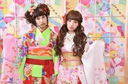 Kimono de estilo Harajuku y experiencia de Photoshoot