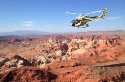 Excursión en helicóptero VIP Grand Canyon West Rim y Valley of Fire
