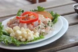 Excursión en bicicleta, barco y comida en Lima