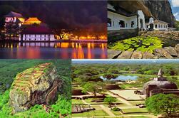 10-Night Sri Lanka Unesco Patrimonio Tour da Colombo