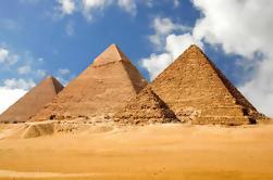 Excursión privada a las Pirámides de Giza y Sakkara