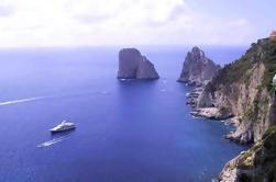 Tour de la isla de Capri y las grutas de Sorrento