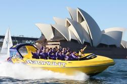 30 Minutos de Sydney Harbour Jet Boat Ride: Thunder Twist
