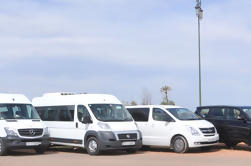 Transferencia de llegada privada: Aeropuerto de Casablanca a Marrakech Hotel de llegada