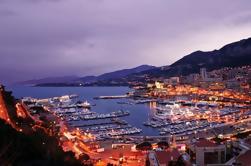 Excursión nocturna en grupo y cena en Monte Carlo desde Niza