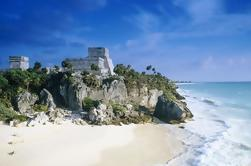 Ruinas de Tulum y Playa del Carmen Sunset Tour
