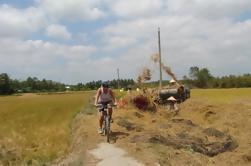 Excursión de un día en kayak y ciclismo en el río Mekong