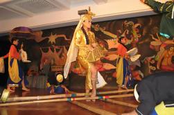 Cena y espectáculo cultural en Manila