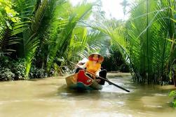 Excursión de un día flotante en el Delta del Mekong con clases de cocina tradicional