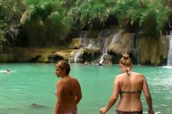 Tour de día entero incluyendo caminata en la selva a la cascada de Kuang Si