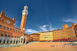 Excursão privada: Siena e San Gimignano com degustação de vinhos e visita à aldeia de Chianti